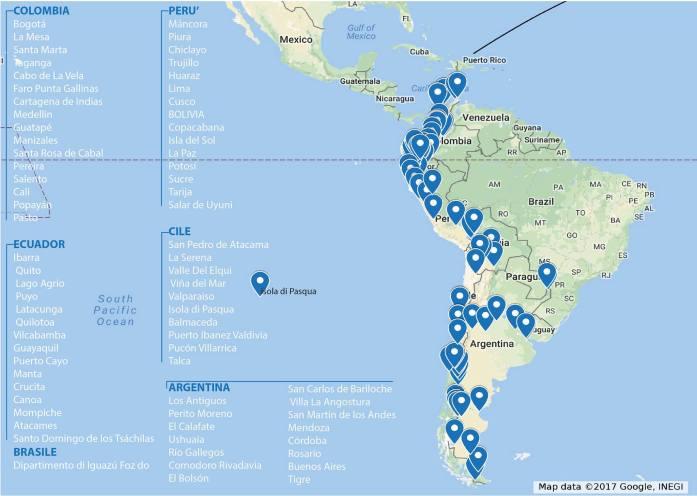viaggio Sudamerica percorso zaino in spalla Mattia Fiorentini Scomfort Zone