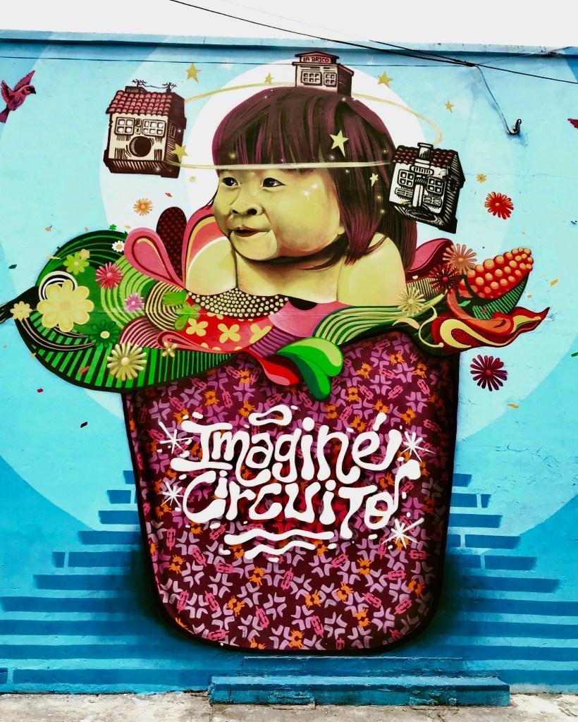 bogotà carrera 26 murales colombia indios graffiti
