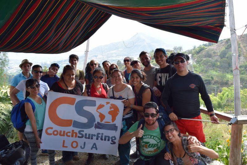 raduno nazionale couchsurfing Ecuador Loja Vilcabamba Mattia Fiorentini Scomfort Zone