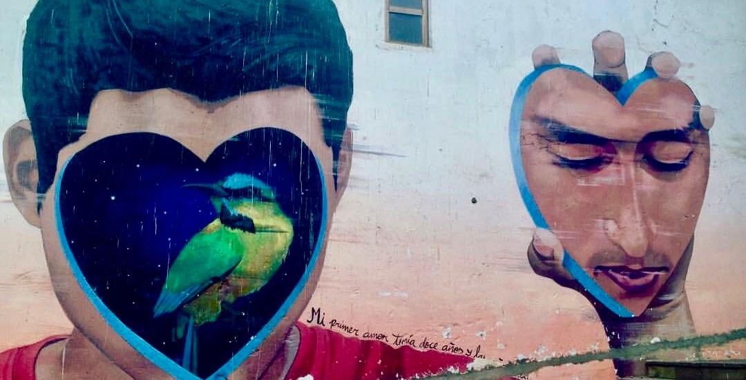 Sognare un viaggio scomfortzone murales barrio barranco lima Perù