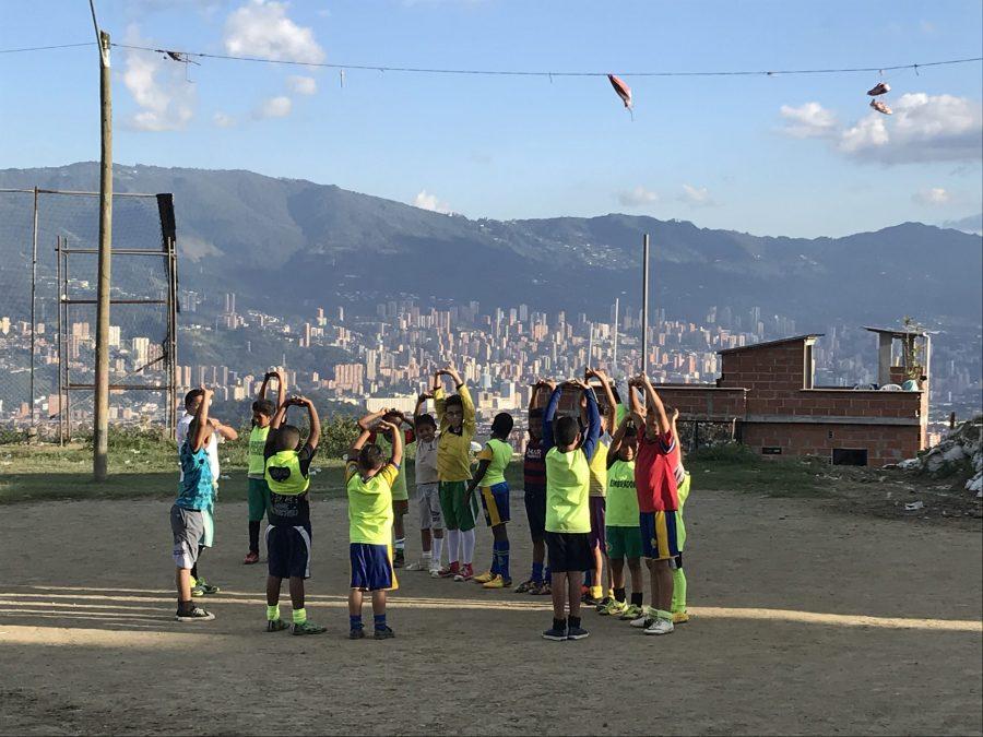 volontariato colombia medellin comuna 13