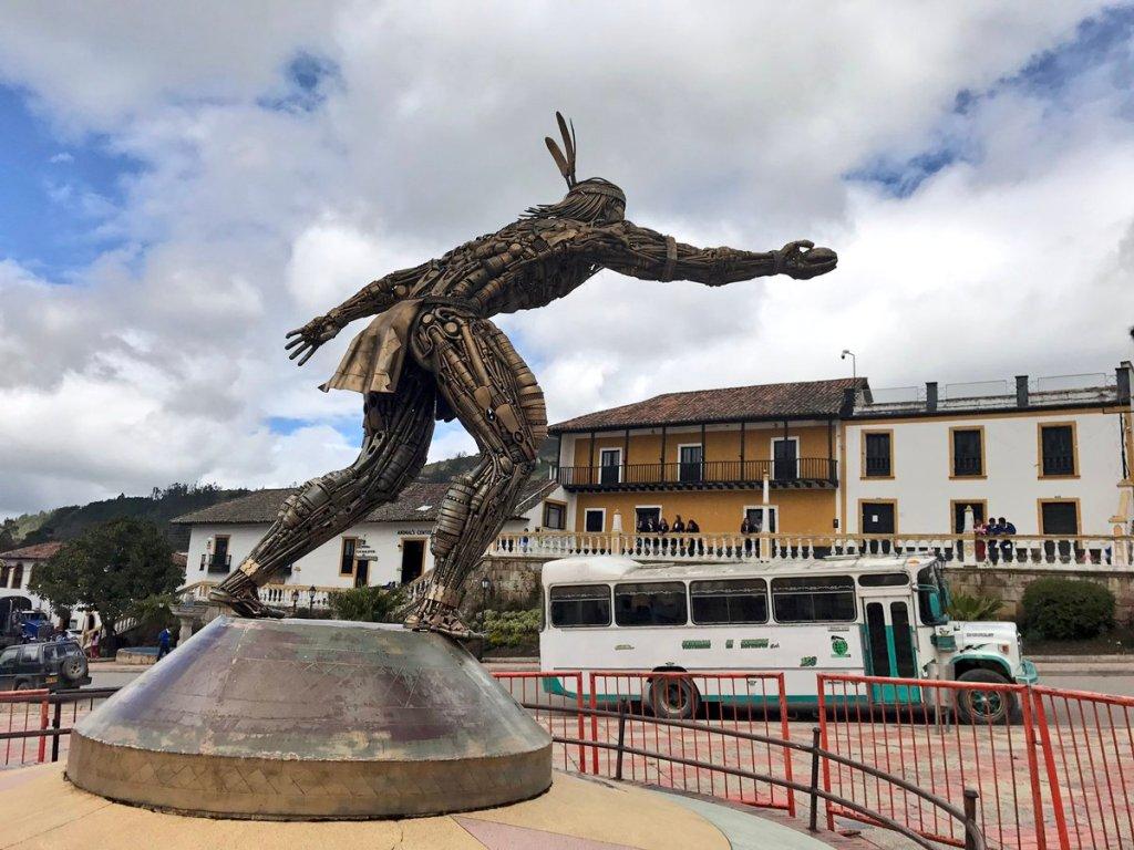 indigeno Colombia gioco Tejo