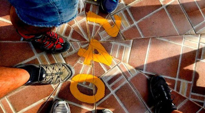 Oltre 700 scalini per salire in cima alla Piedra del Peñol a Guatapè viaggio in Colombia