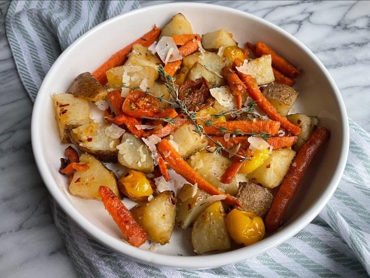 Honey Butter Roasted Vegetables