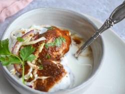 Dahi Bhallay, Lentil dumplings in yogurt