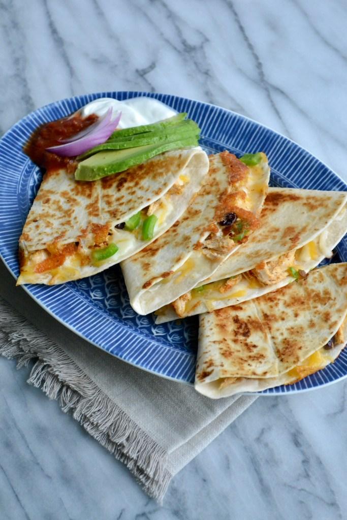 loaded quesadillas
