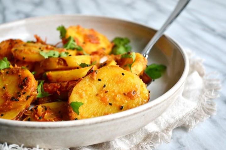 Aloo ki Bhujia (Potato Curry)