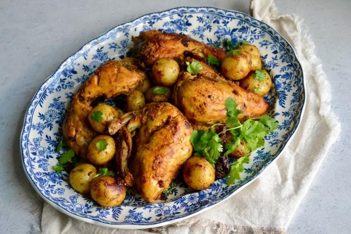 Steam Roast Chicken