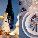 Kleine Tipps Tricks Fur Eure Tischdekoration An Weihnachten Gleich Funf Servietten Diys Scones Berries