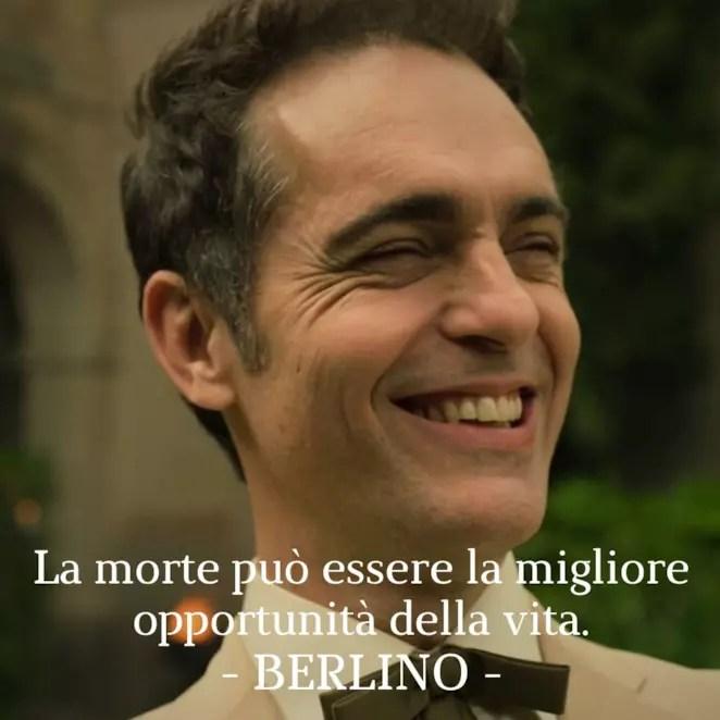 La morte può essere la migliore opportunità della vita, Sergio.
