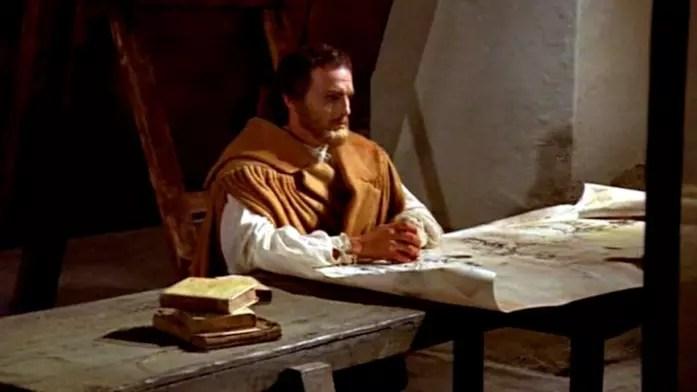 Philippe Leroy interpreta il giovane Leonardo nella miniserie Rai La vita di Leonardo da Vinci