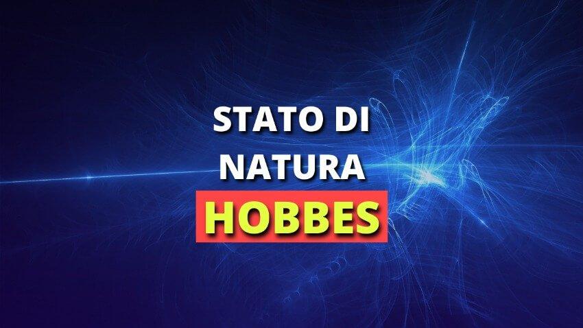 Read more about the article 1. Lo stato di natura secondo Hobbes