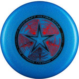 Фрисби Discraft Ultra-Star Blue Sparkle