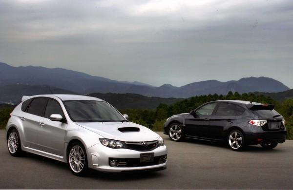 330-S-hatch-black-one..-and-silver-sti-600x390 Subaru Impreza Turbo Special Editions - WRX, STI & Turbo UK Market