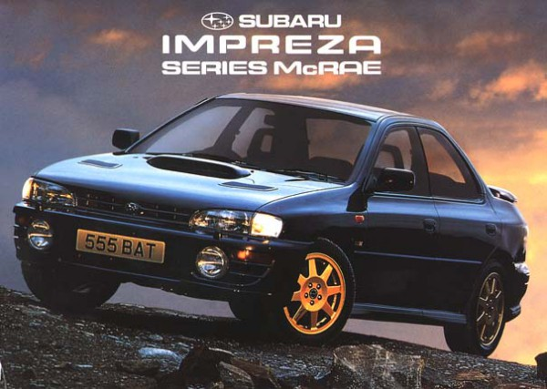 series-mcrae-600x427 Subaru Impreza Turbo Special Editions - WRX, STI & Turbo UK Market