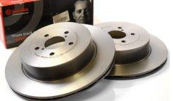 Impreza Brake Discs Size