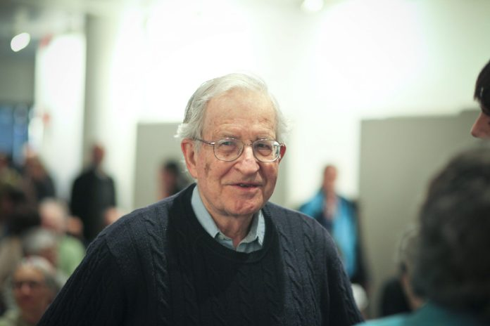 Noam Chomsky (*1928) is an American linguist, cognitive and history scientist