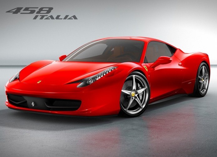 Red Ferrari Car 3D HD Wallpapers Collection
