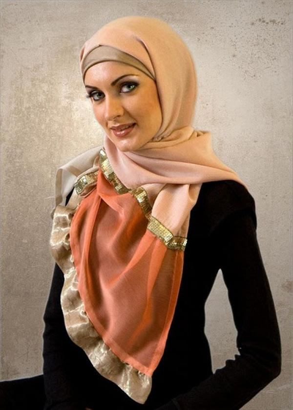 New Hijab Veil Fashion Trends 2014 for Girls (5)