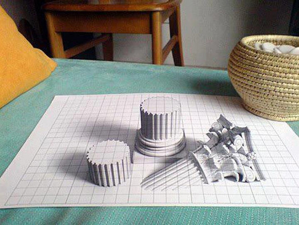 Amazing Collection of 3D Pencil Art 2014