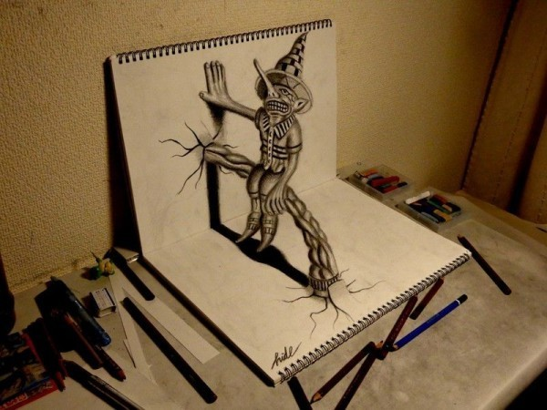 Amazing Collection of 3D Pencil Art 2020