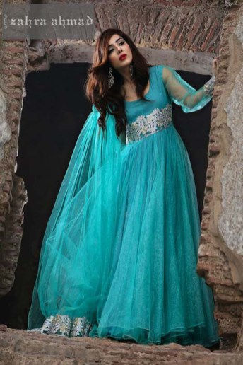 Zahra Ahmed New Wedding Formal Dresses in pakistan (6)