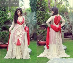 Zahra Ahmed New Wedding Formal Dresses in pakistan (1)
