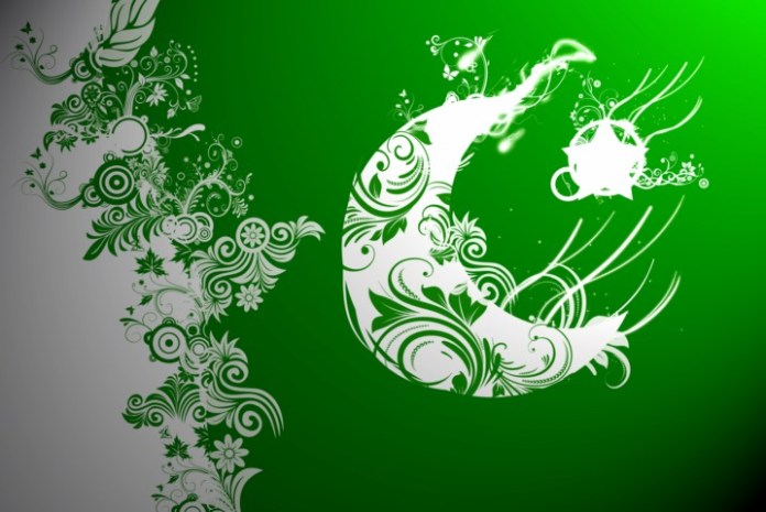 Flag of Pakistan very nice shape pictures download