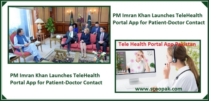 PM Imran Khan Launches TeleHealth Portal App for Patient-Doctor Contact