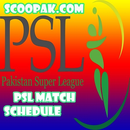 PSL 6 Schedule 2021 New PDF Download