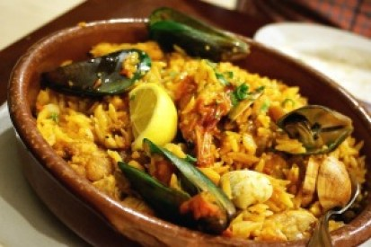 Greek seafood paella. Loved it. Photo from: jodiesmommy.wordpress.com