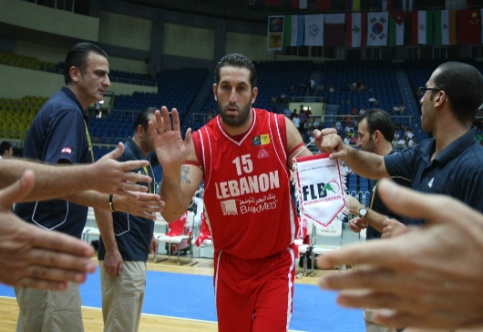 Fadi El-Khatib . Photo by FIBA.