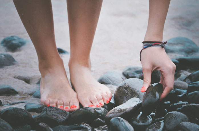 barefoot - healthy life