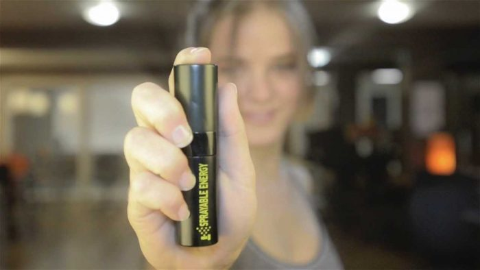 spray energy