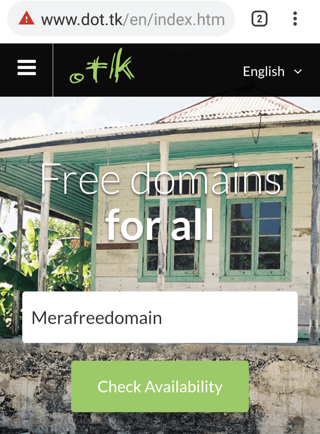 free domain kaise kharide