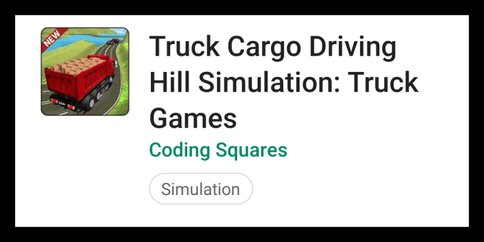 Truck Cargo Driving Hill Simulation