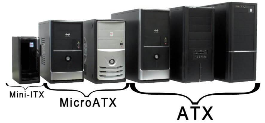computer case size