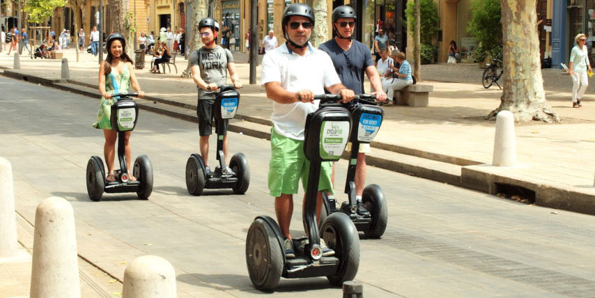 An example of a Segway