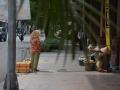 Saigon street traders