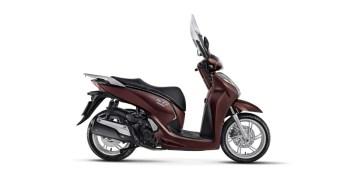 honda scooter SH300i marrom perolizado