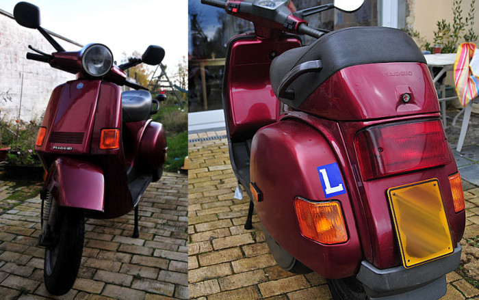 Production Vespa Cosa 200. (Courtesy hansoete on Flickr.)