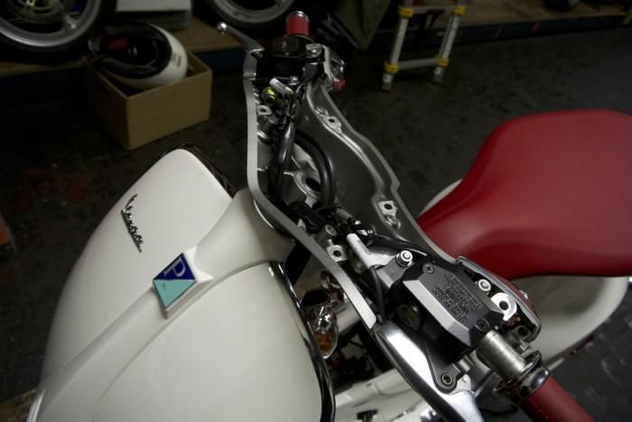 Vespa 946 Aluminum Parts - 1