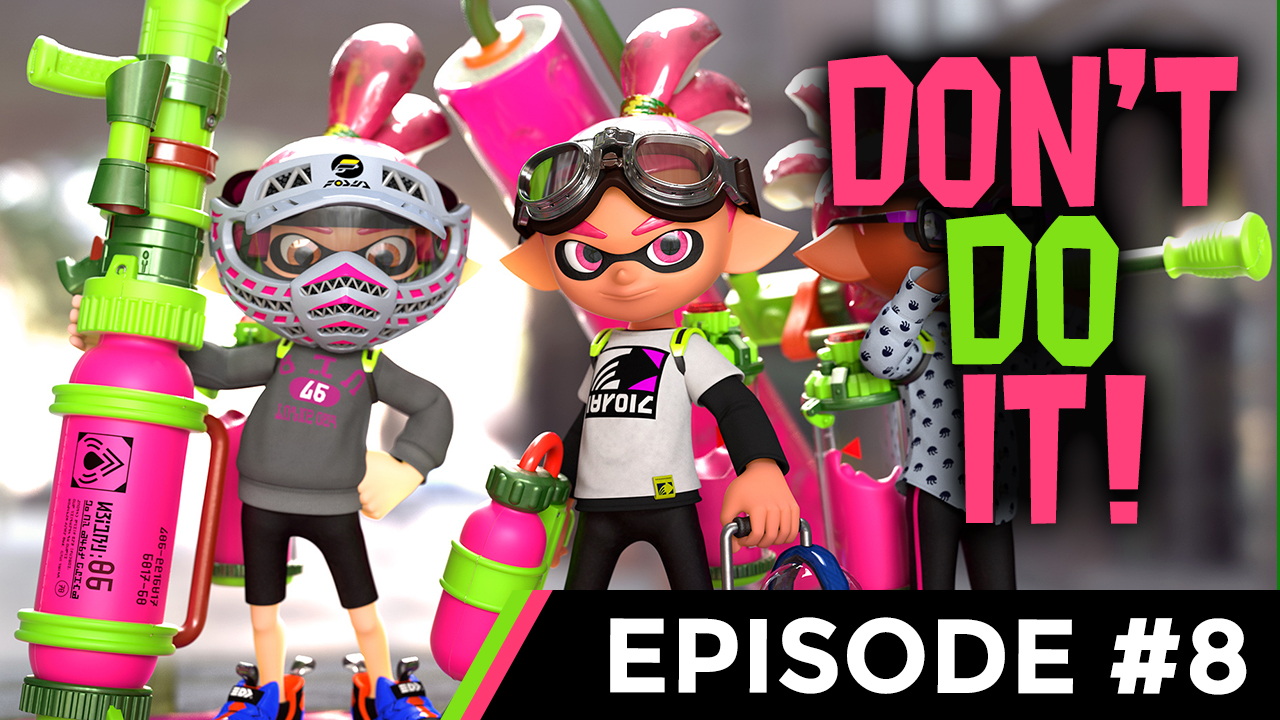 DON'T DO IT TO YOURSELF!!! [SPLATOON 2 #8] Thumbnail