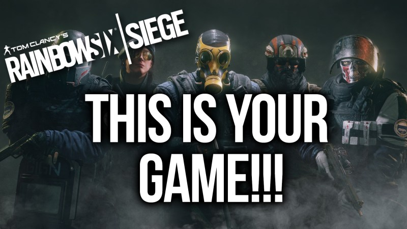 THIS IS YOUR GAME!!! [RAINBOW SIX #4] Thumbnail
