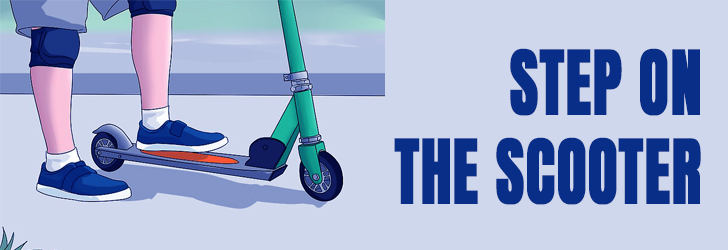 STEP-ON-THE-SCOOTER