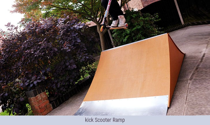 How To Build A Kick Scooter Ramp?