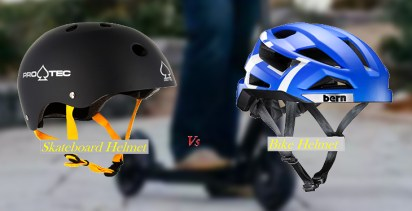 Differences Between a Skateboard Helmet and a Bike Helmet
