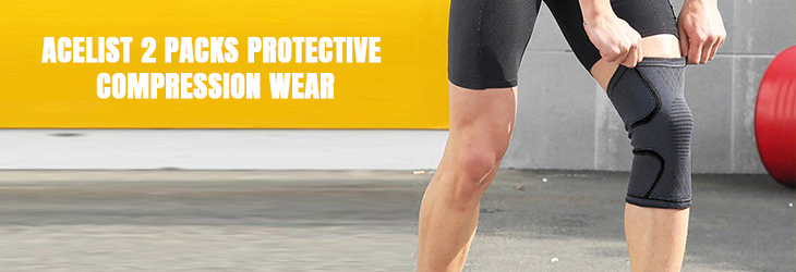 6.ACELIST 2 PACKS PROTECTIVE COMPRESSION WEAR