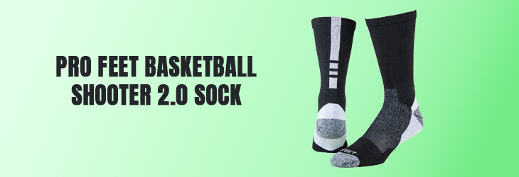 Pro Feet Basketball Shooter 2.0 Sock