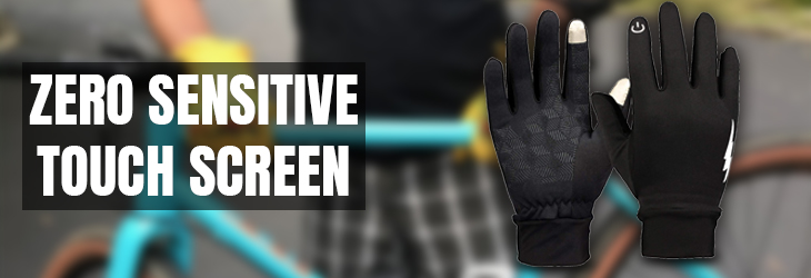 ZERO SENSITIVE TOUCH SCREEN GLOVES (MEN & WOMEN)